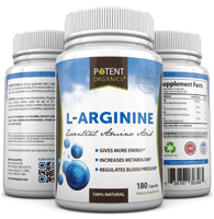 L-arginine by Potent Organics