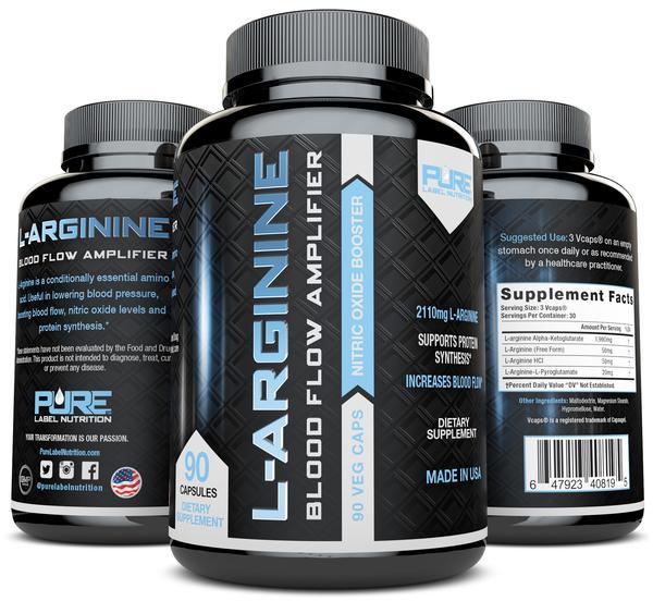 Pure Label Nutrition L-Arginine Review